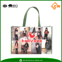 Fashion reusable bag, printing shopping bag, tnt bag for promotion/travel