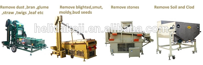 Quick Deliver Sesame Seed Cleaning Machines Wheat Seed Cleaner