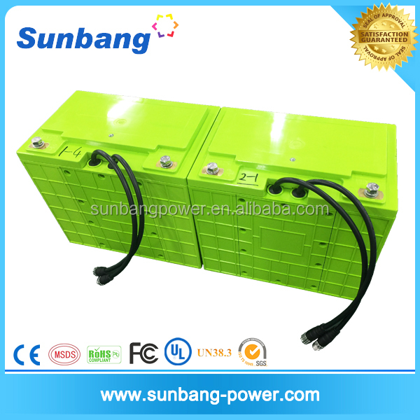 External management system bms 12v 200ah lifepo4 battery pack