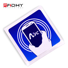 Free Samples Small Printable Passive Rewritable RFID NFC Ntag215 Paper Tag