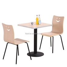 new design fast food restaurant table and chair restaurant round tables chairs furniture for sale R1766