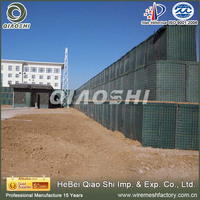 hesco barrier/wire mesh welded box/china hot sale price