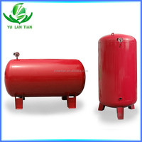 horizontal type water supply pressure vessel