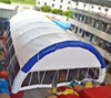 Large inflatable party tent, inflatable event tent
