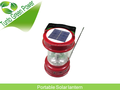 New design 0.7w sola panel with lead-acid battery inflatable solar lantern