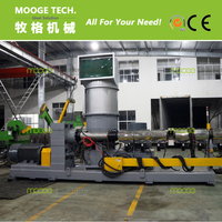 recycled plastic recycling granulator machine for PE PP soft material