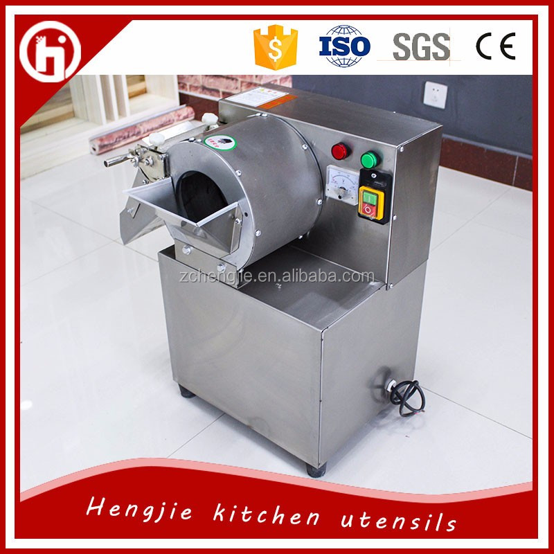 Efficient electric vegetables and fruit dicing machine