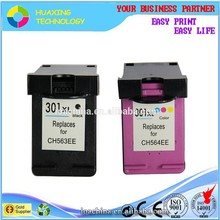 factory direct sale compatible hp 301 301XL ink cartridge