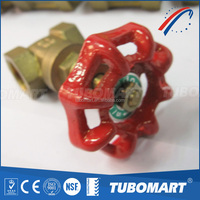 200 wog Brass gate valve from China OEM factory