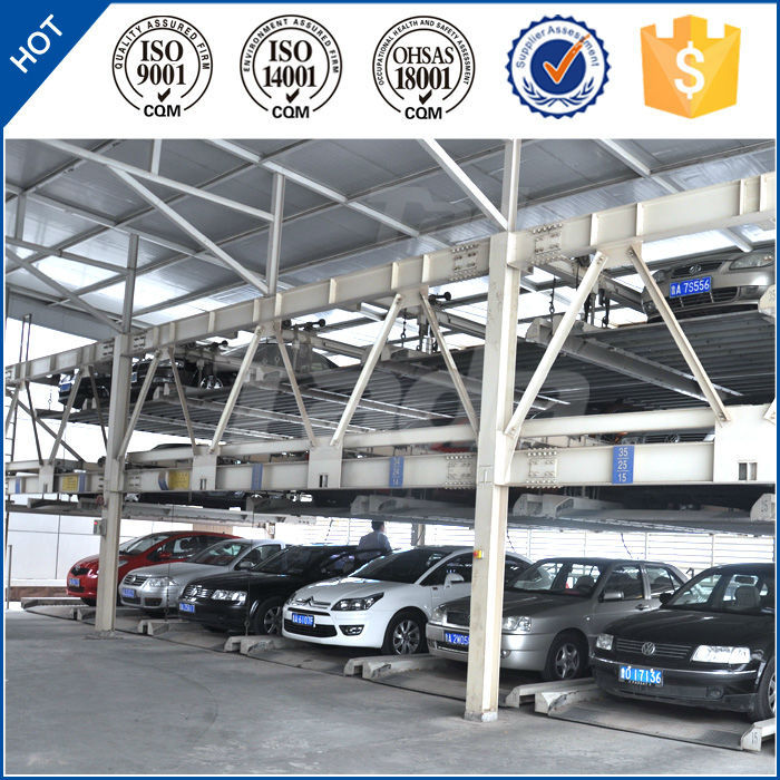 psh 3 layer puzzle lift and sliding car parking shed