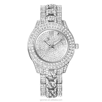 2016 Women Geneva Watches Stainless Steel Diamond Lady Watch