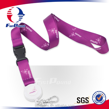 China Promotion sublimation lanyard with custom logo
