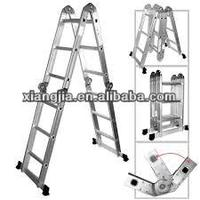 6m adjustable length en 1313 price aluminum ladder made in China