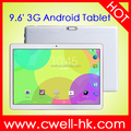 9.6 inch Capacitive Touch Screen 1GB RAM 16GB ROM Dual Sim 3G WCDMA 5000mAh Big Battery PC Tablet