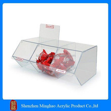 acrylic carriage box cake stand for candy, cake, bread