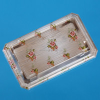 plastic sushi tray with cover