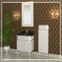 stainless steel bathroom cabinet sanitary ware