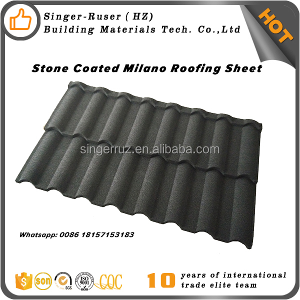 Wood/Steel structure buildings roofing materials curved roof tiles type color steel stone coated roofing sheet roman tiles