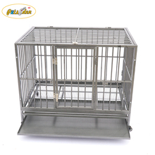 Wire Tube Dog cage travel house solid pet crate kennel color customized