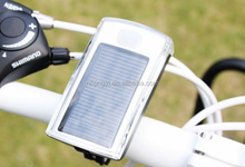 powerful LED bicycle 4 molds water resistant solar front light