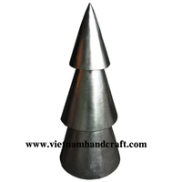 Best quality hand finished Vietnamese silver leaf lacquer bamboo christmas trees
