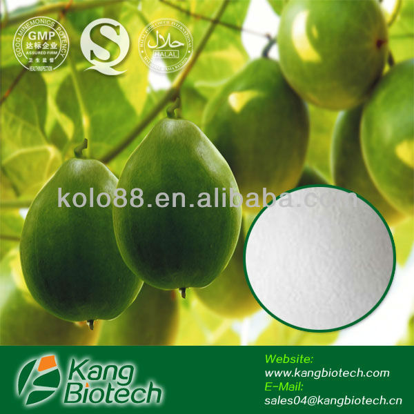 OEM China Supplier natural plant colour extract Monk fruit Powder, Natural Sweetner