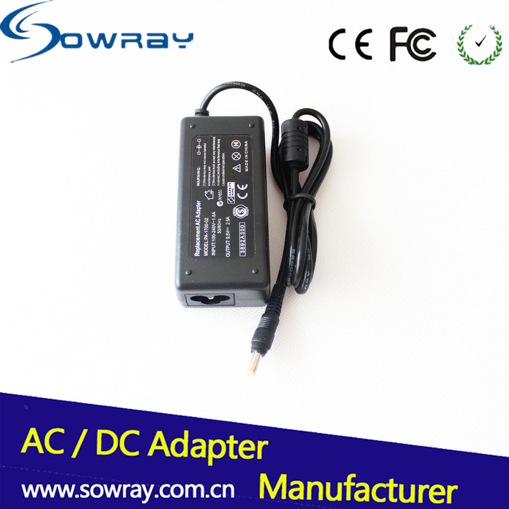 Laptop power charger for asus 9.5V 2.5A 24W tablet adapter 4.8*1.7mm
