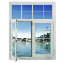 Customized size aluminum transom window