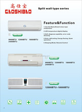 R410A split wall Air Conditioner U Series