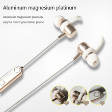 Dazzling wireless earphone bluetooth headset popular earphone metal