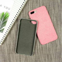 plush microfiber ultra thin cover for iphone 6 plus case 2016