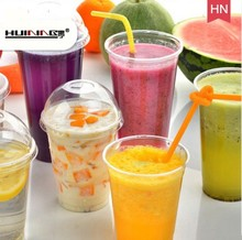 Colorful and high quality plastic drinking straw