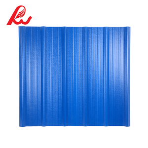Excellent anti-load performance roofing sheet ASA pvc plastic roof tile