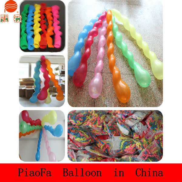 2015 Promotion colorful helium latex balloon,lovely screw baby balloon, party balloon latex balloon