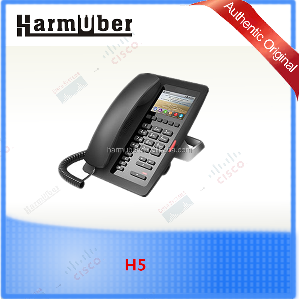 Fanvil H5 Hotel Phone support 1 SIP Servers, and Backup SIP Proxy Servers