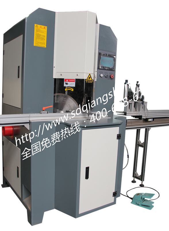 Automatic Aluminum extrusions digital precision cutting saw