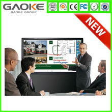 Gaoke LED cheap window screen interactive touch screen/advertising display screen