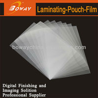 A4 laminating thermal hot pouch film