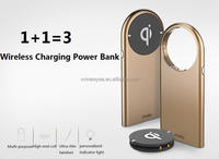 New Christmas products rechargeable battery wireless charger for iphone 6s