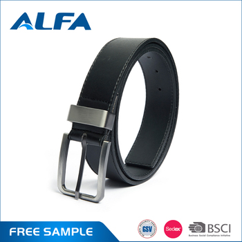 Alfa High Quality Products 2017 Customized Decorative Fashion Men Casual Belt PU