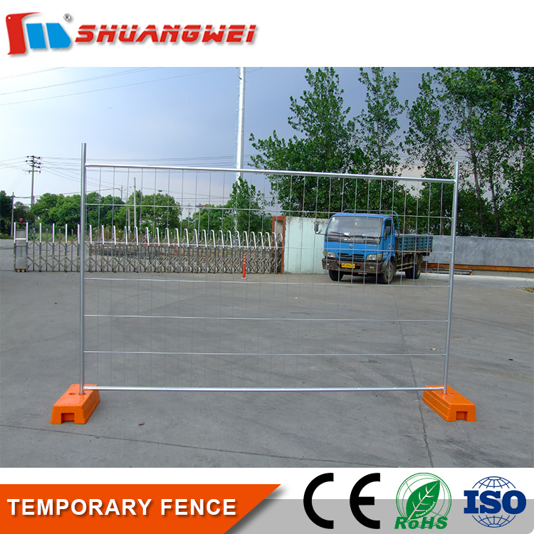 factory direct supply Outdoor Removable Metal canada temporary fence for construction