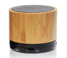 2016 round super bass jaxx 2.1 bamboo S10 bluetooth speaker with FM radio