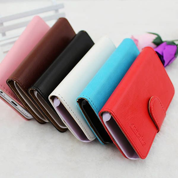 Wholesale Cell Phone Case Flip Cover Leather Case for motorola atrix 4g mb860