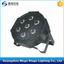 7x10W 4in1 rgbw Slim Led Par 64 Mini led Flat Par Light