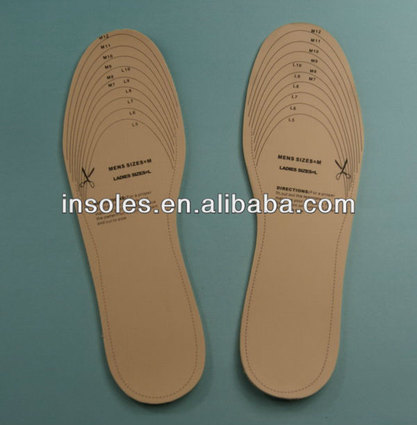 Free size insole cheap latex shoe insoleSK-T01-501
