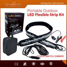 PanaTorch Hot selling Camping Led Flexible Strip Kit PS-F3572A high quality cables For outdoor lighting