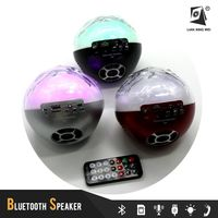 High Quality Portable led football wireless bluetooth speakers deals