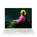 Wall Art 1 Piece Jesus' love Canvas Prints Religion Painting Jesus Praying Wall Picture for Living Room Ready to Hang on Wall