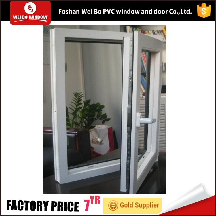 China supplier low price small size casement window,upvc/pvc window