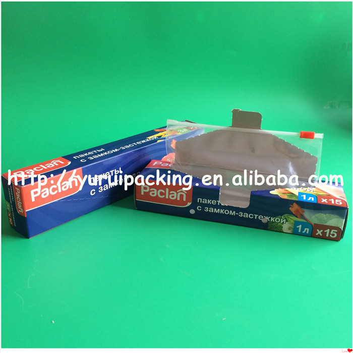 high quality cheap price slider cutter color box packing plastic wrap